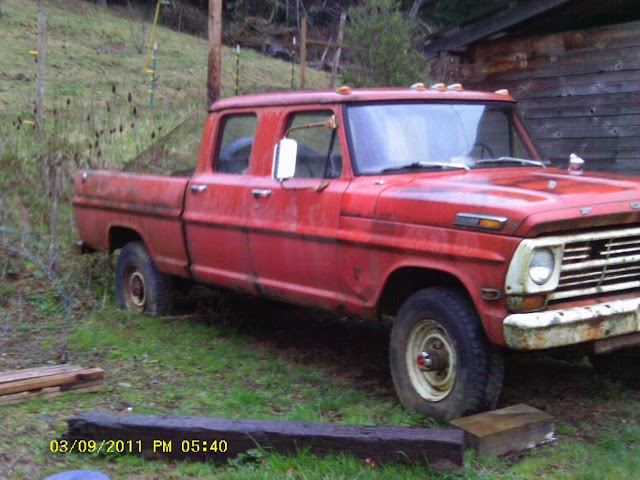 68 f250 crew cab 4x4 short box cummins! the fordification com forums1970 Ford Crew Cab For Sale #11