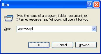uninstall program remotely