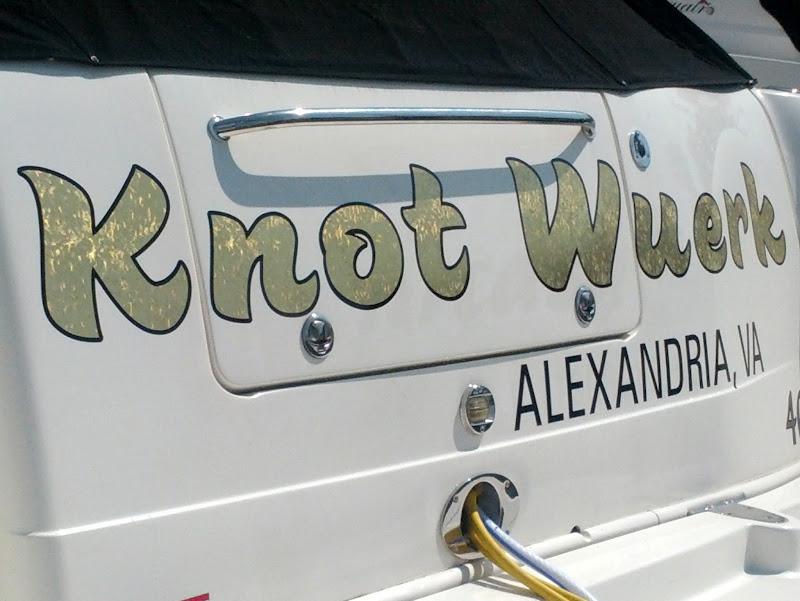 Gold Leaf Boat Names - Knot Wuerk