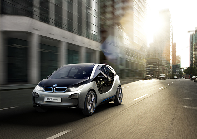 BMW i3 miesto automobilis