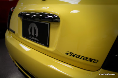 Fiat 500 Stinger emblem