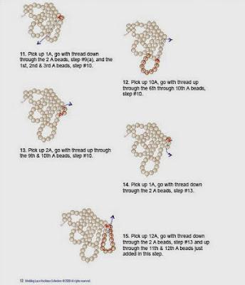Схемы: Схема колье Сандры Халпени