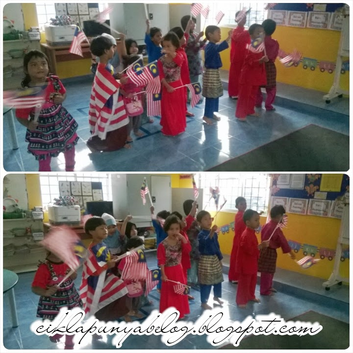 Sambutan hari merdeka tadika kakak...