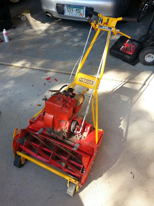 Diy Reel Mower Roller Using Rolling Pins