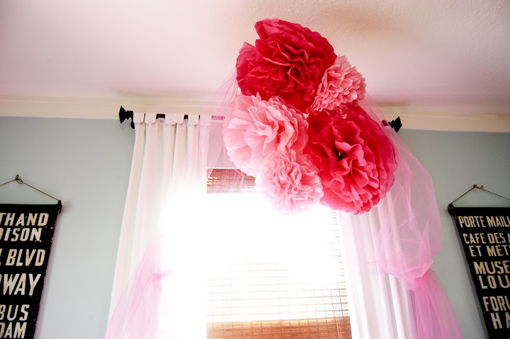 princess party diy, Scalloped tablecloth DIY, Tissue paper balls