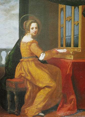 Jacopo Vignali - Saint Cecilia