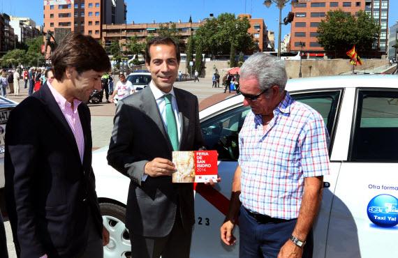 La programación de la Feria de San Isidro en los taxis