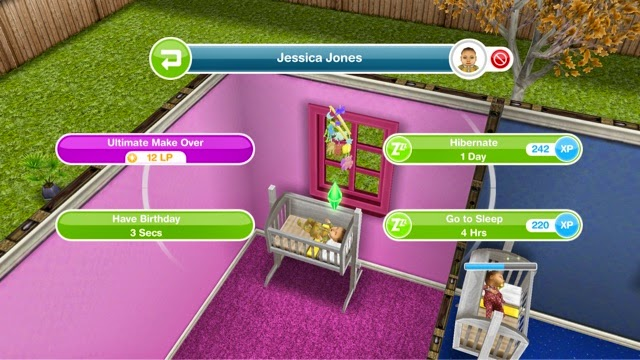 Hibernate   which takes 24 hours and also improves the Energy need. Sims Freeplay   Guide To Babies   Greenoid Gemzicle