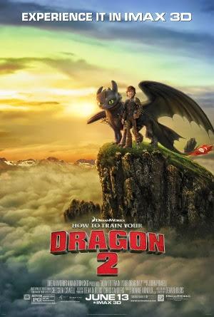 Filme Poster Como Treinar o Seu Dragão 2 HDRip XviD Dual Audio & RMVB Dublado e Legendado