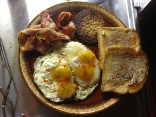Pagan Eye Full English Breakfast Or American Supper
