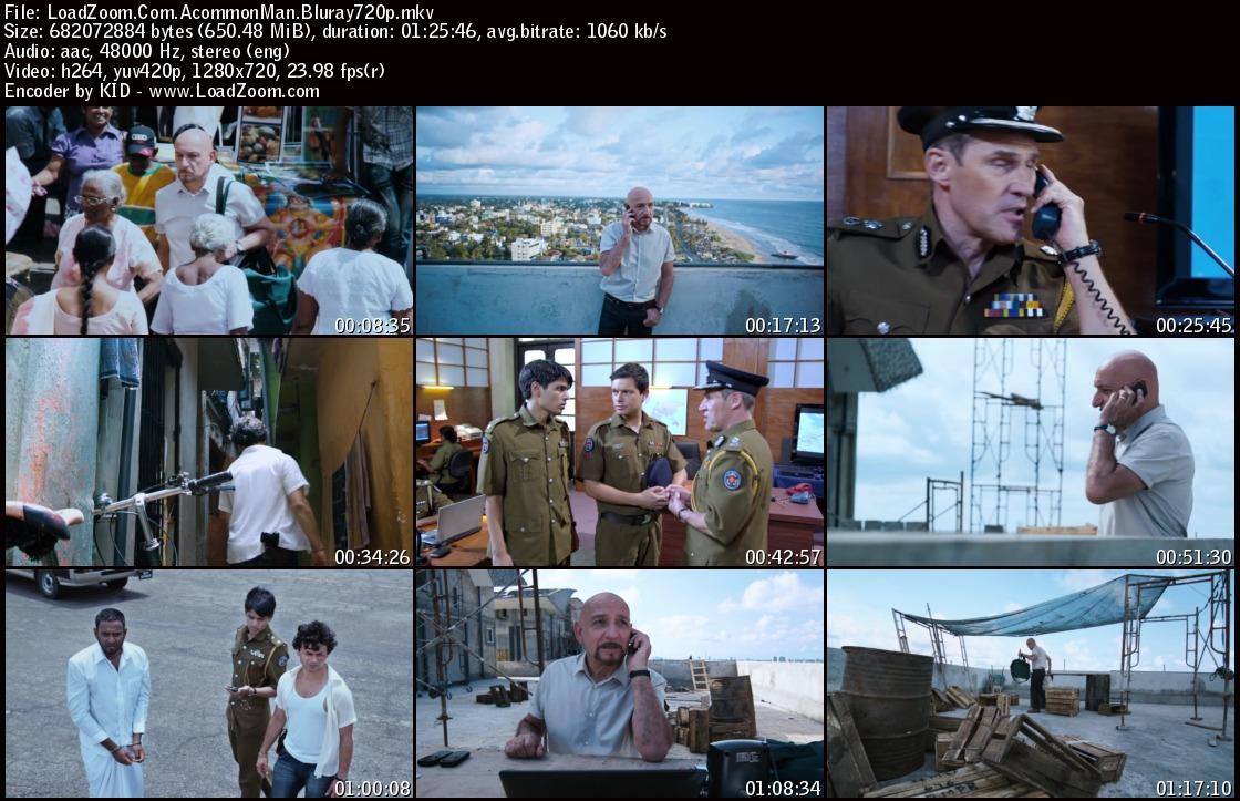 movie screenshot of A Common Man fdmovie.com