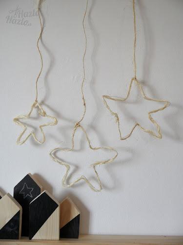 Cómo hacer estrellas con alambre