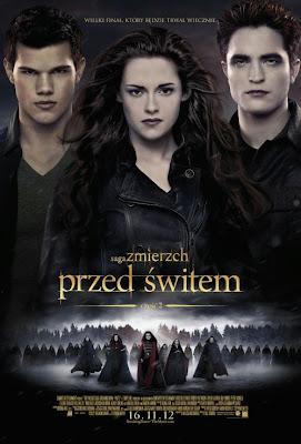 Plakat filmu: Saga Zmierzch: Przed świtem cz. 2.
