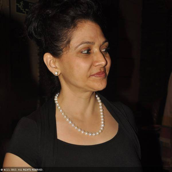 Neena Parsad during Vani Tripathi's birthday bash, held in Delhi.