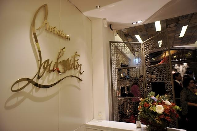 christian louboutin chicago store opening - Bavilon Salon