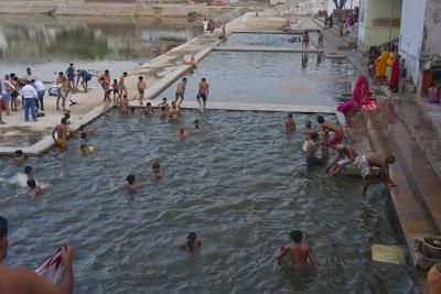 Ghats en Pushkar, India
