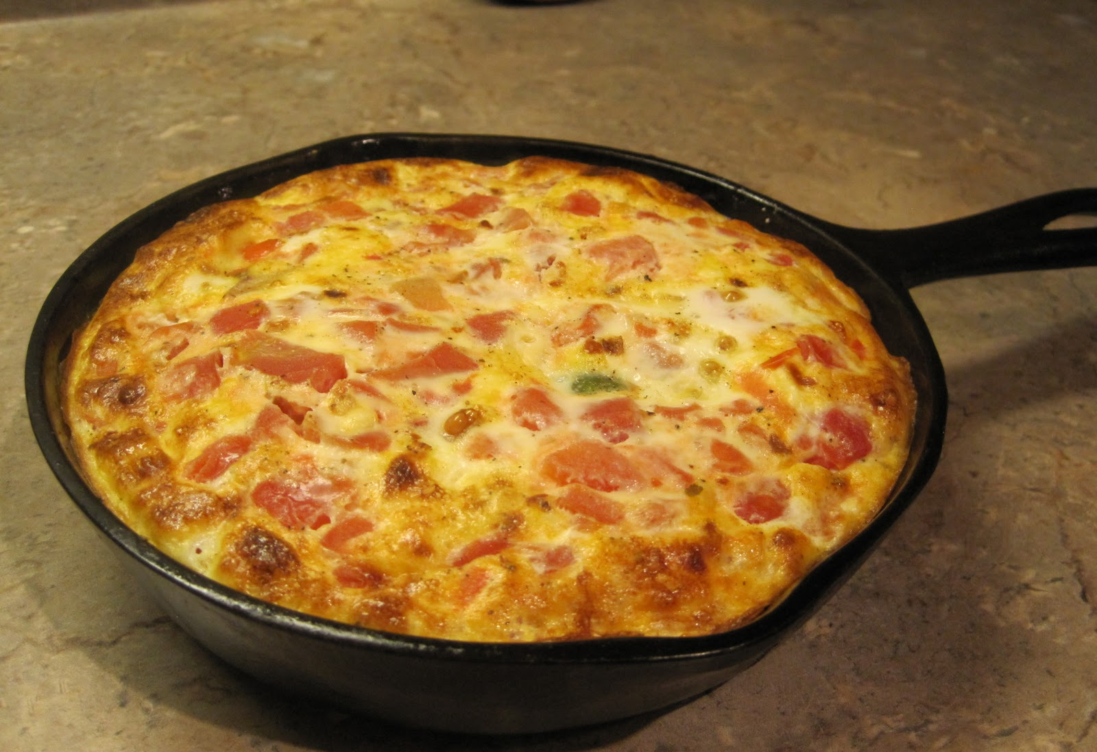 how to make a frittata in a pan