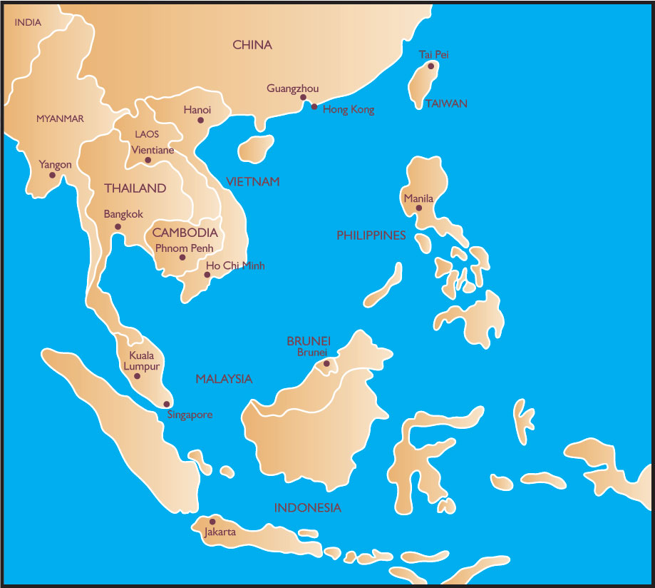 blank map of asia minor. Blank map of southeast asia to