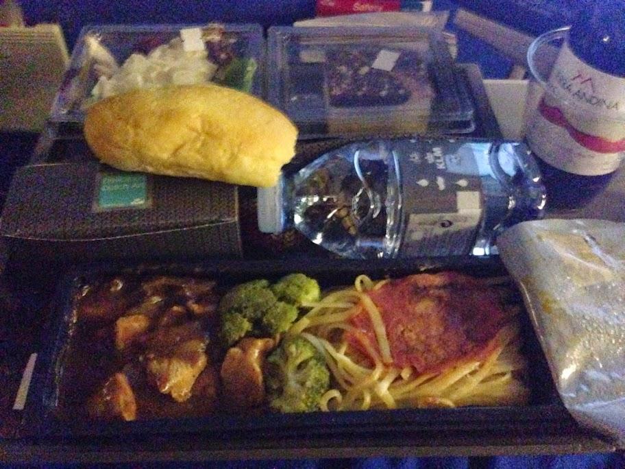 KMLオランダ航空 機内食