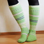 Sweater Sleeve Socks