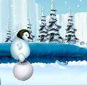 العاب ذكاء اية , لعبة البطريق وكرات الثلج