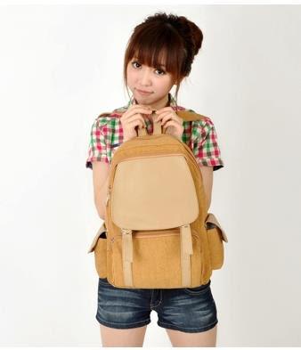Tas, tas import korea, warna, Kuning, korea, kanvas, Pre Order, murah ...