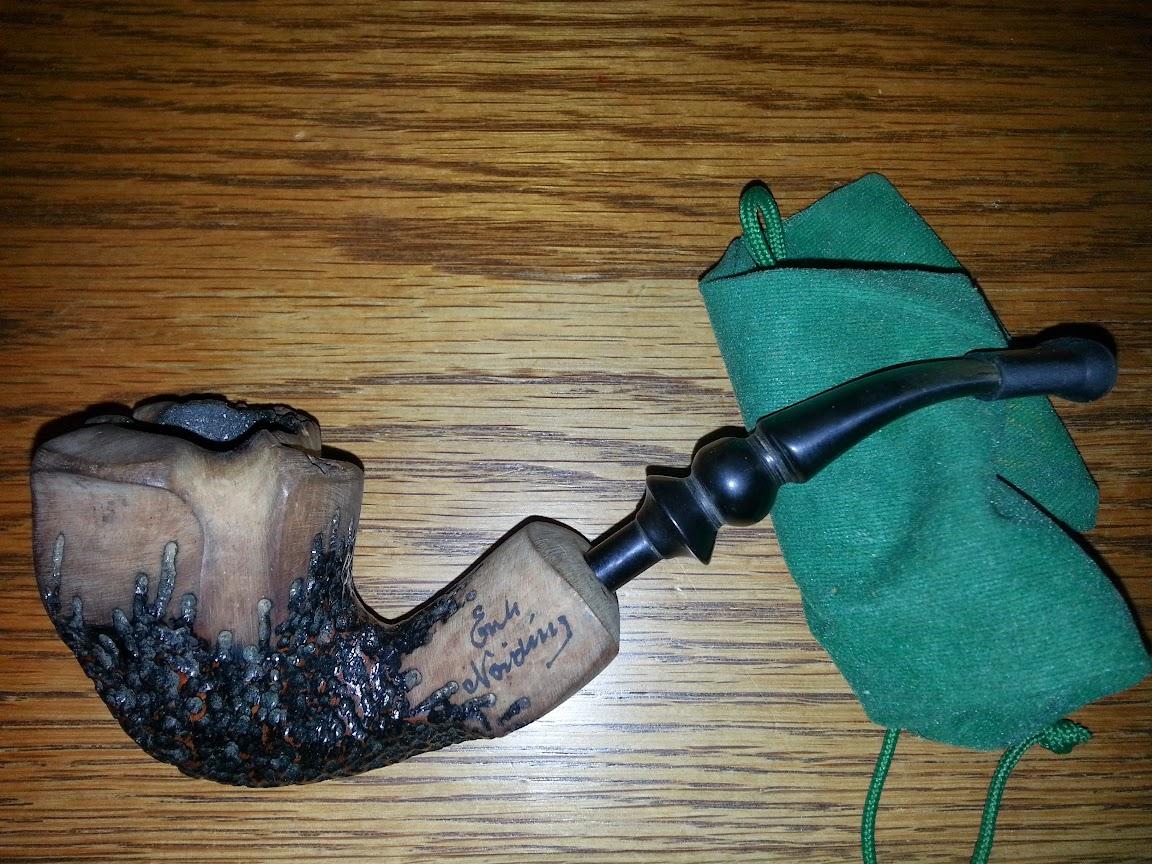 Erik Nording Rustic pipe