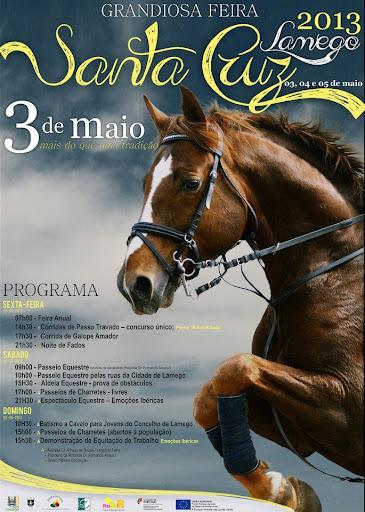 Programa - Feira de Santa Cruz - 3 de Maio de 2013 - Lamego