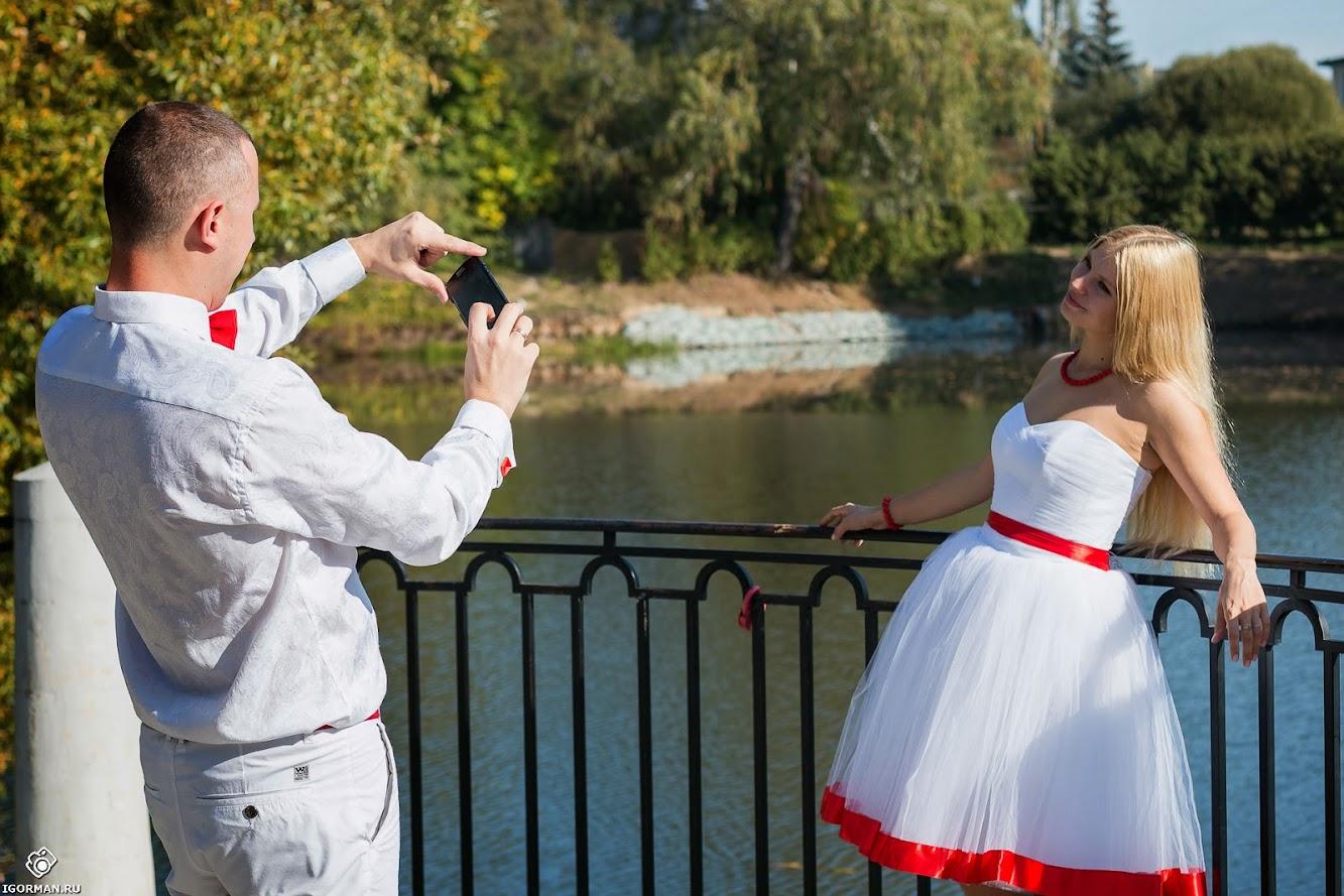 Профессиональная свадебная фотография в Москве