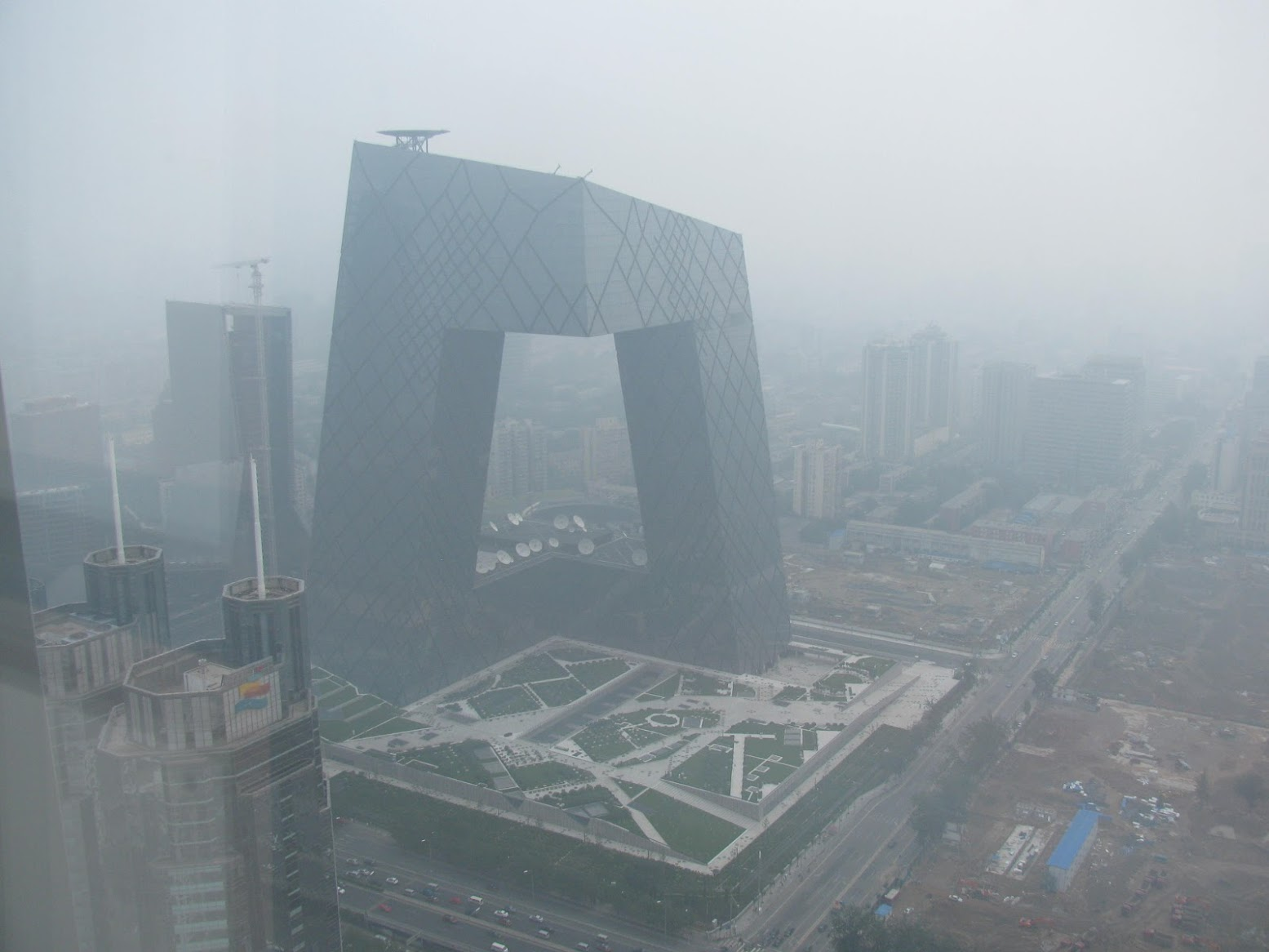 Pechino, Cina: [POLLUTION OVER BEIJING]
