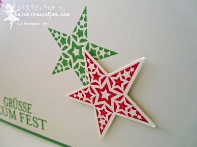 stampin up, christmas card, weihnachtskarte, simply stars, zauber der weihnacht, bright & beautiful