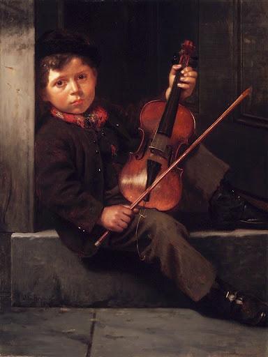 John George Brown - The Boy Violinist