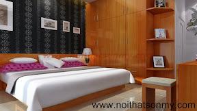 Thiết kế phòng ngủ lãng mạng