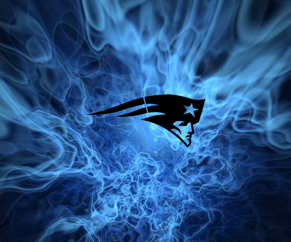 Patriots Logo Wallpaper: Flames Wallpaper By Fatboy97