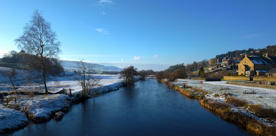 A wintry River Coquet, as beautiful as ever