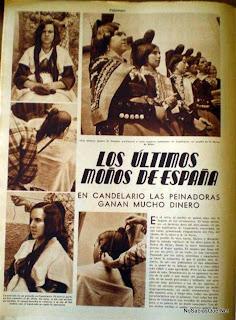 Candelario Salamanca en la revista Estampa de 1935