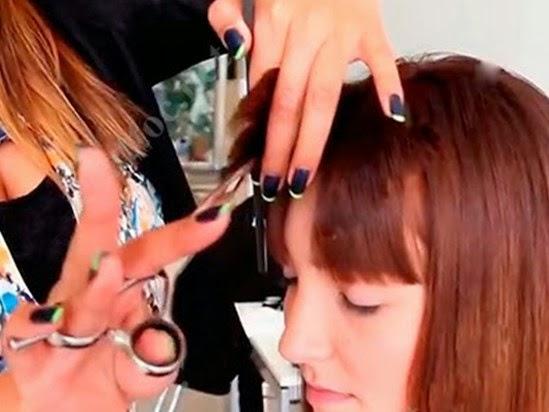 Day cat toc nu co ban huong dan cat toc mai 14 Dạy cắt tóc nữ cơ bản, Hướng dẫn cắt tóc mái