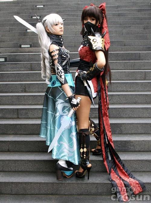 Kiều nữ Miyuko hút hồn với cosplay Cyphers 9