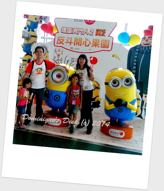A shot with the ever lovable Minions