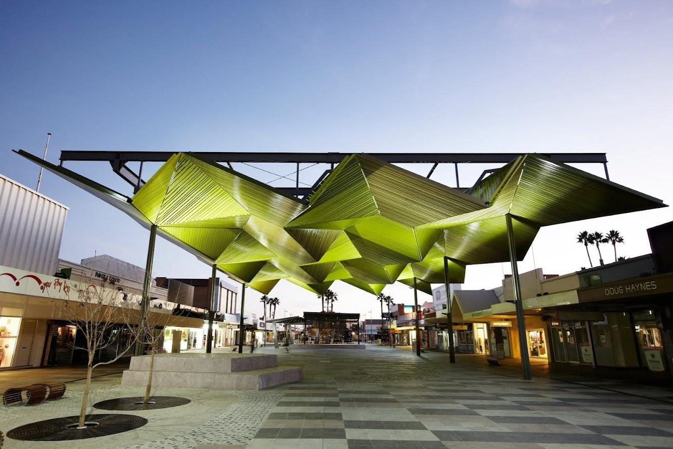 Mildura Victoria 3500, Australia: Langtree Mall Pavilion by Bellemo & Cat