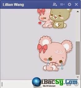 Hình 5: thêm biểu tượng chat facebook