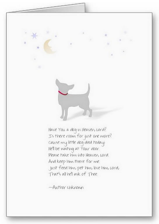 Image Result For Dog Sympathy Cards