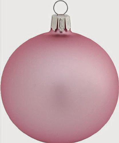 4 Qualitats Glas Christbaumkugeln Uni Rosa Matt 6 Cm Mundgeblasene
