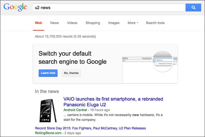 Yahoo Switch Firefox Google