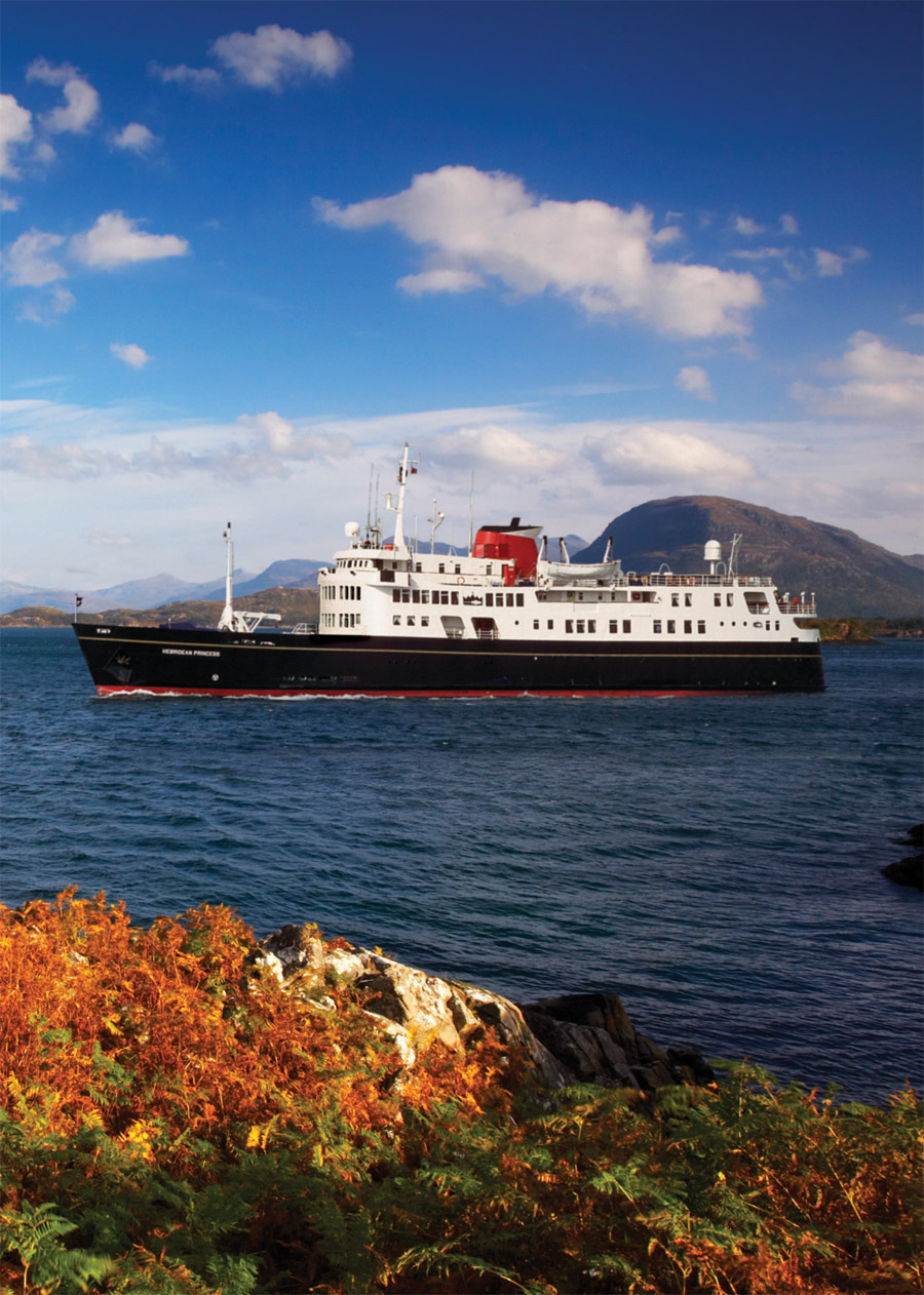 hebridean island cruises focuses on north america - from the deck chair