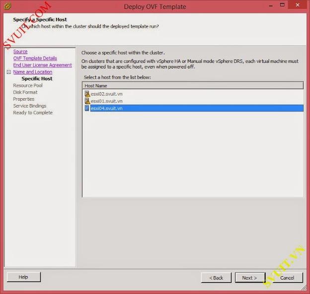 deploy vSphere App Ha (6)