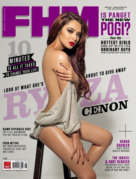 Ryza Cenon FHM cover May 2013 Photos 01-04-30-2013