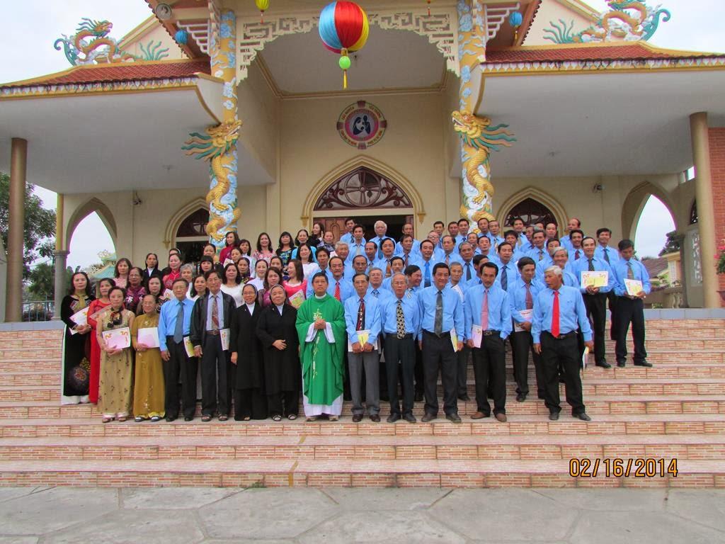 Giáo xứ Tân Bình cử hành Thánh lễ Tuyên hứa & trao chứng thư cho Tân Ban Thường vụ HĐGX
