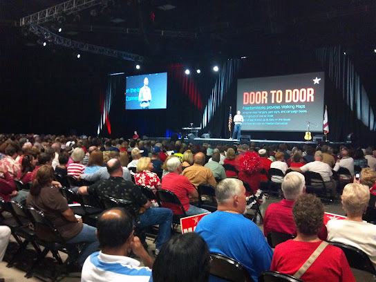 FreePAC attendees learned the basics of the various grassroots GOTV methods