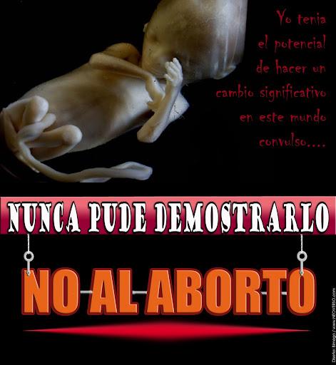 NO AL ABORTO LEGAL | Publish with Glogster!